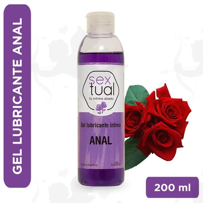 Gel estimulante con aroma a rosas