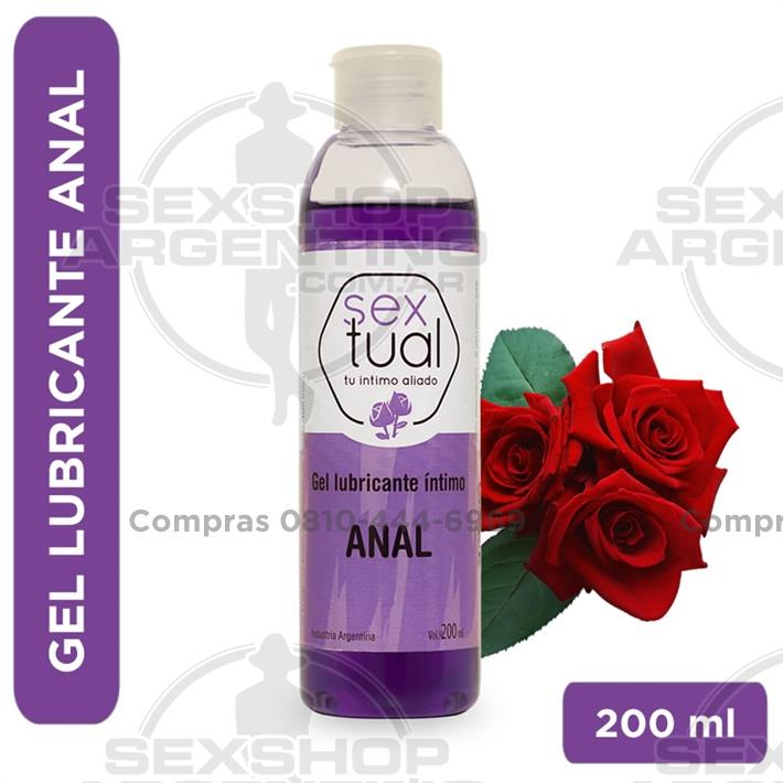 - Gel anal con aroma a rosas 200 ml