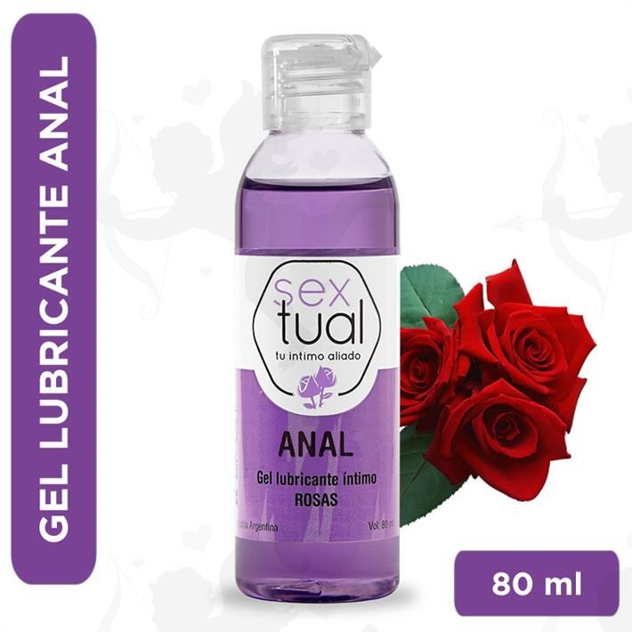 Gel anal con aroma a rosas 80 ml