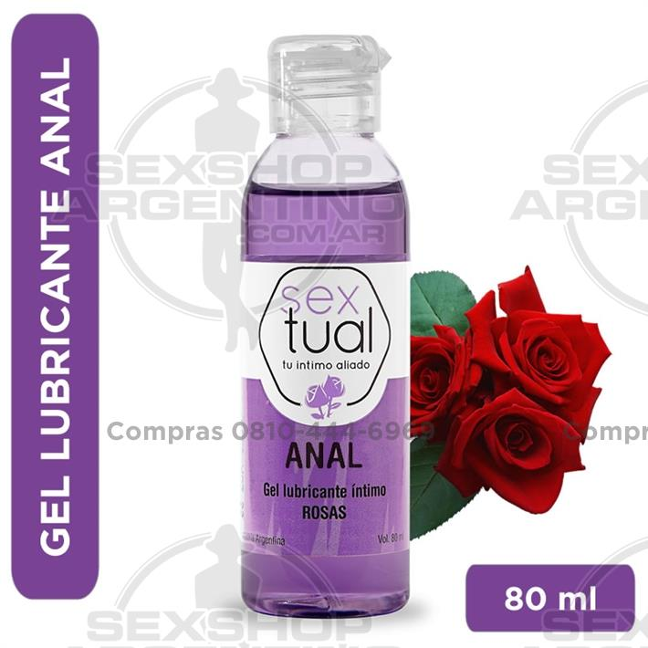 - Gel anal con aroma a rosas 80 ml