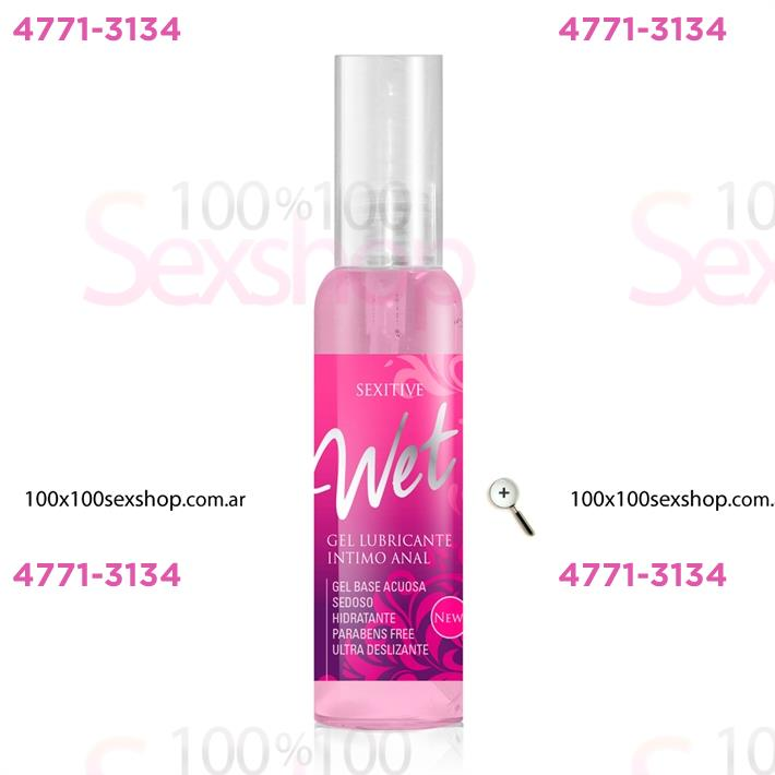 Cód: CA CR WET02 - Gel lubricante Anal 75 ml - $ 700