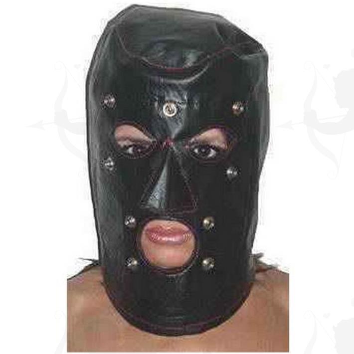 Mascara De Cuero Con Tachas