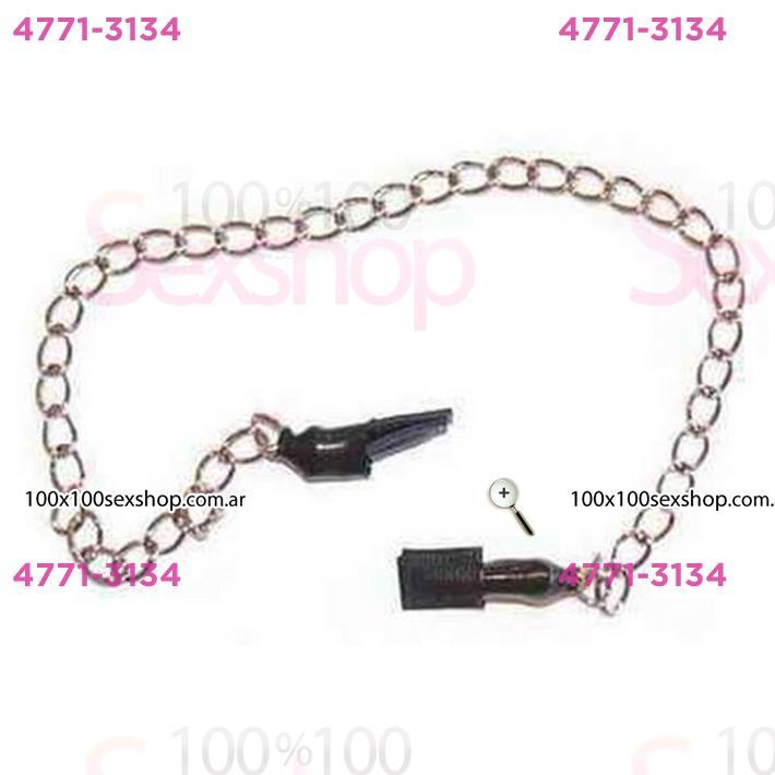 Cód: CA CU48 - Pezoneras con cadena - $ 785