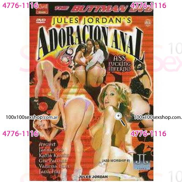 Cód: CA DVDANAL-206 - DVD XXX Adoracion Anal - $ 200