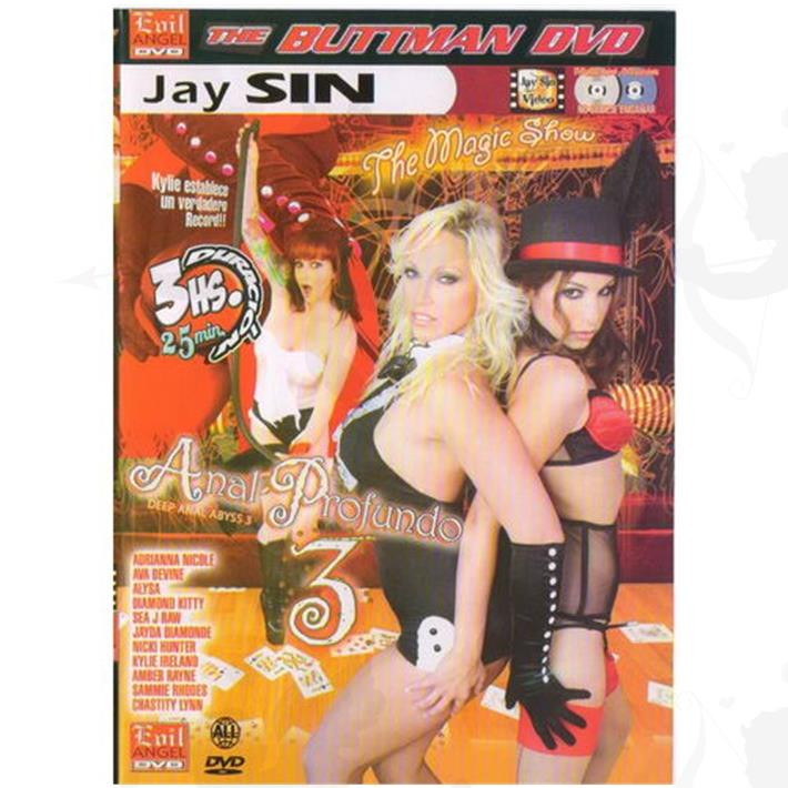 Cód: DVDANAL-209 - DVD XXX Anal Profundo 3 - $ 200
