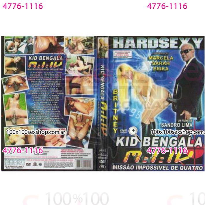 Cód: CA DVDBRA-103 - DVD XXX Kid Bengala Missao Impossivel 4 - $ 200