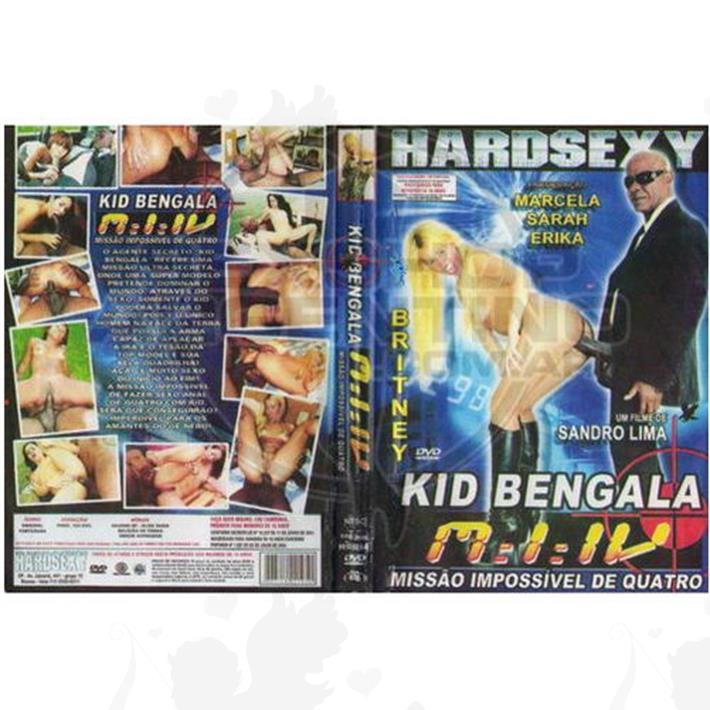 Cód: DVDBRA-103 - DVD XXX Kid Bengala Missao Impossivel 4 - $ 200