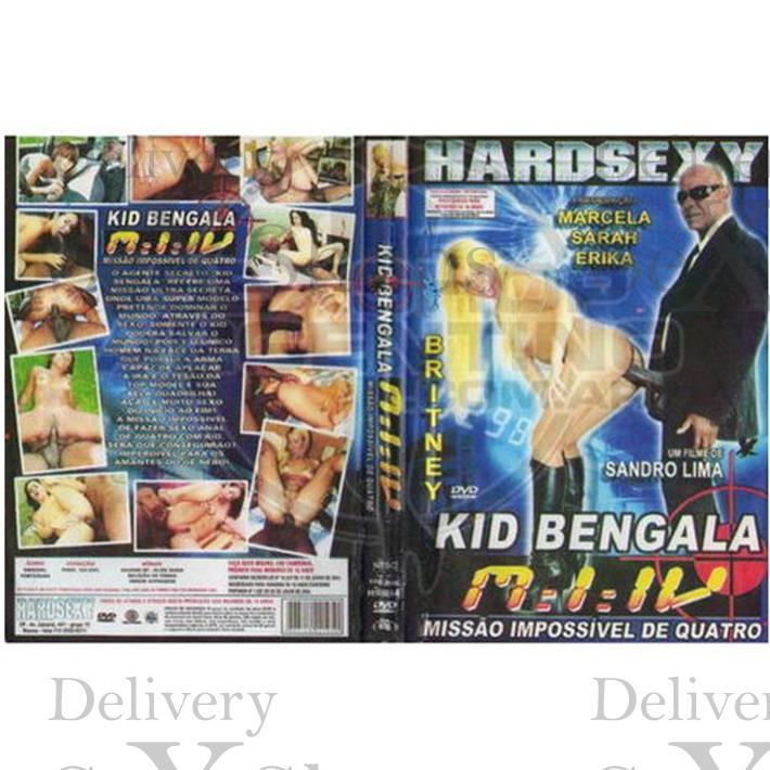 DVD XXX Kid Bengala Missao Impossivel 4