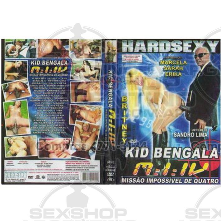 - DVD XXX Kid Bengala Missao Impossivel 4