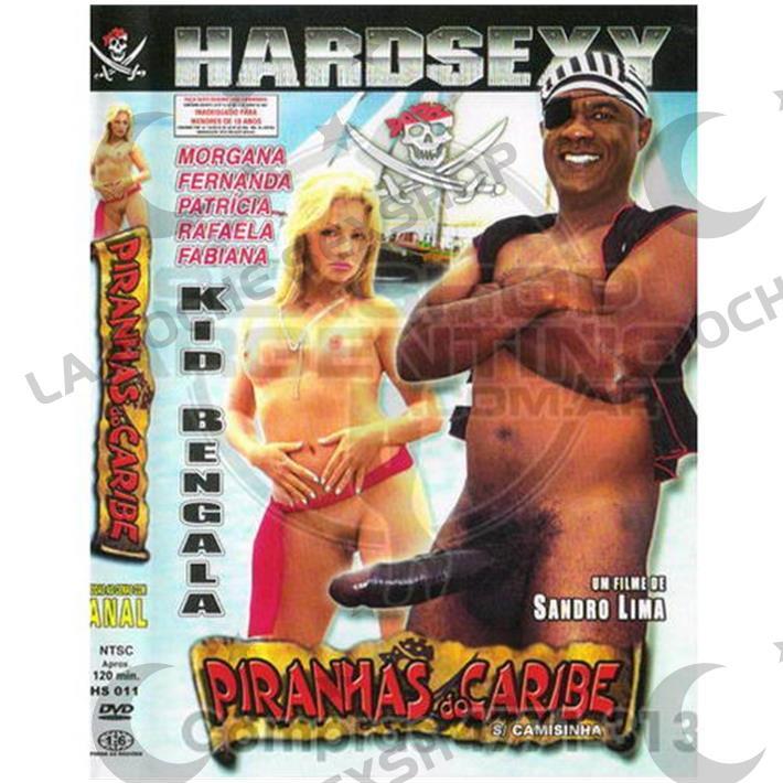 DVD XXX Pirañas Del Caribe
