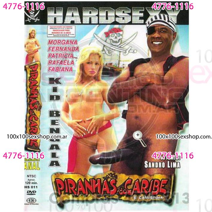 Cód: CA DVDBRA-104 - DVD XXX Pirañas Del Caribe - $ 200
