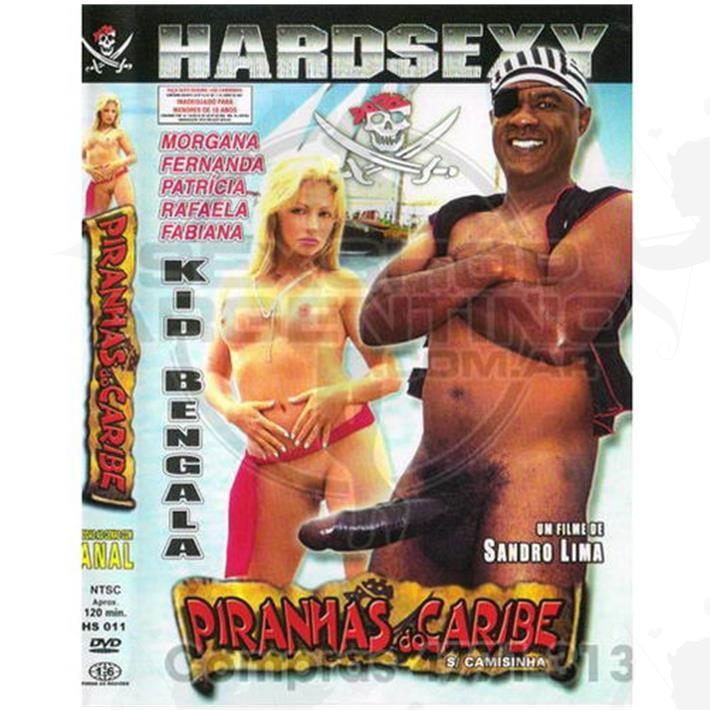 Cód: DVDBRA-104 - DVD XXX Pirañas Del Caribe - $ 200