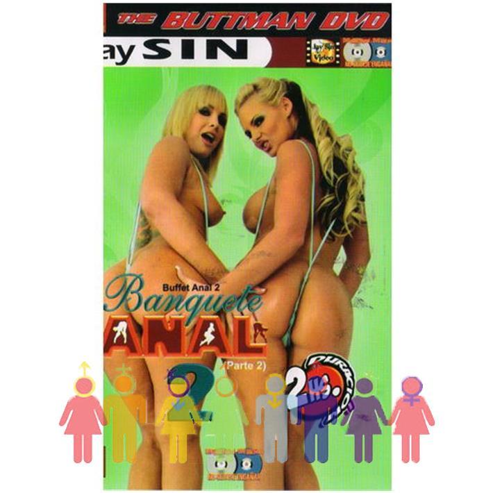 DVD XXX Banquete Anal 2