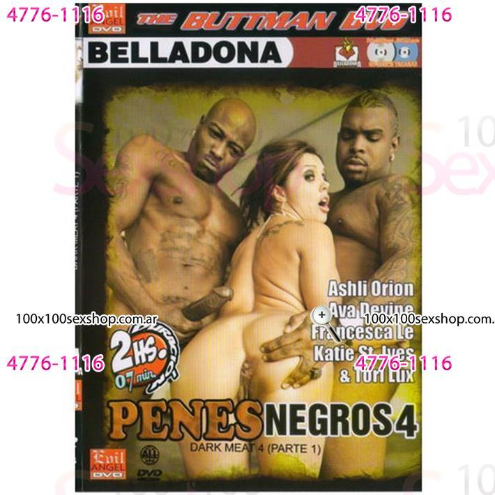 Cód: CA DVDBUTT-1008 - DVD XXX Penes Negros 4 - $ 200