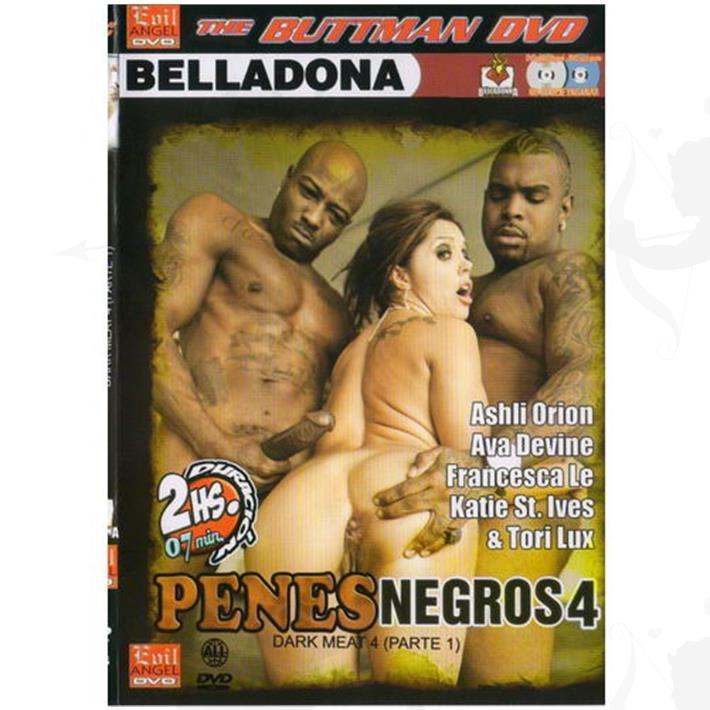 Cód: DVDBUTT-1008 - DVD XXX Penes Negros 4 - $ 200