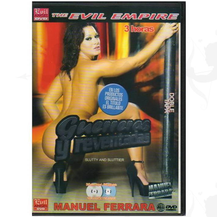Cód: DVDBUTT-206 - DVD XXX Guerreras Y Reventadas - $ 200