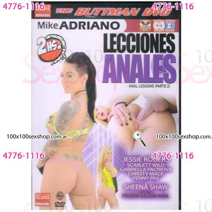 Cód: CA DVDBUTT-210 - DVD XXX Lecciones Anales 2 - $ 200