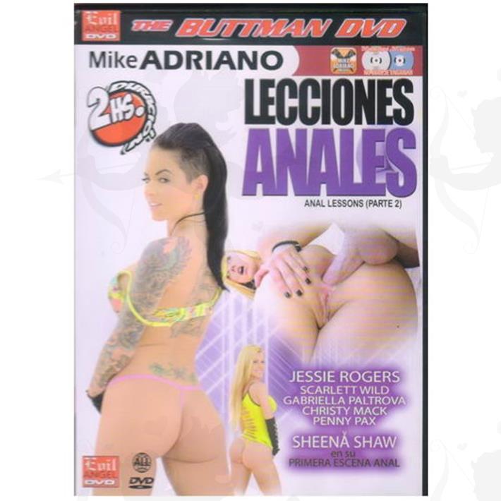 Cód: DVDBUTT-210 - DVD XXX Lecciones Anales 2 - $ 200