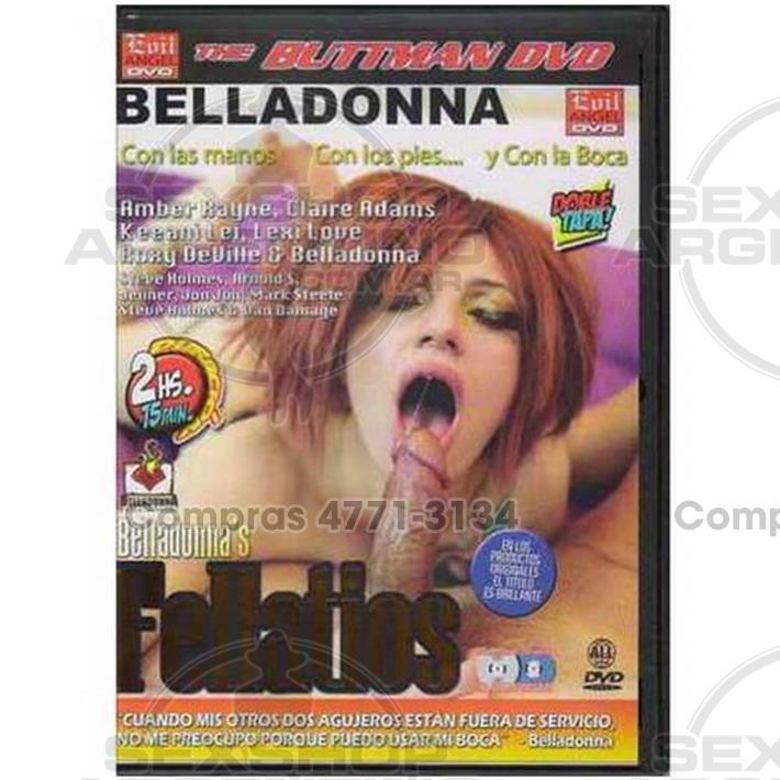 Películas eróticas, Dvd cumshot - DVD XXX Belladonnas Fellatios