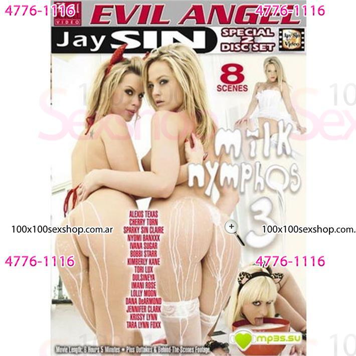 Cód: CA DVDCUM-210 - DVD XXX Derrochando Leche 3 - $ 200