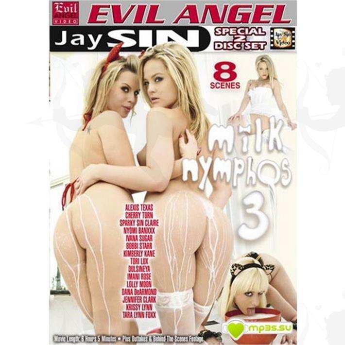 Cód: DVDCUM-210 - DVD XXX Derrochando Leche 3 - $ 200