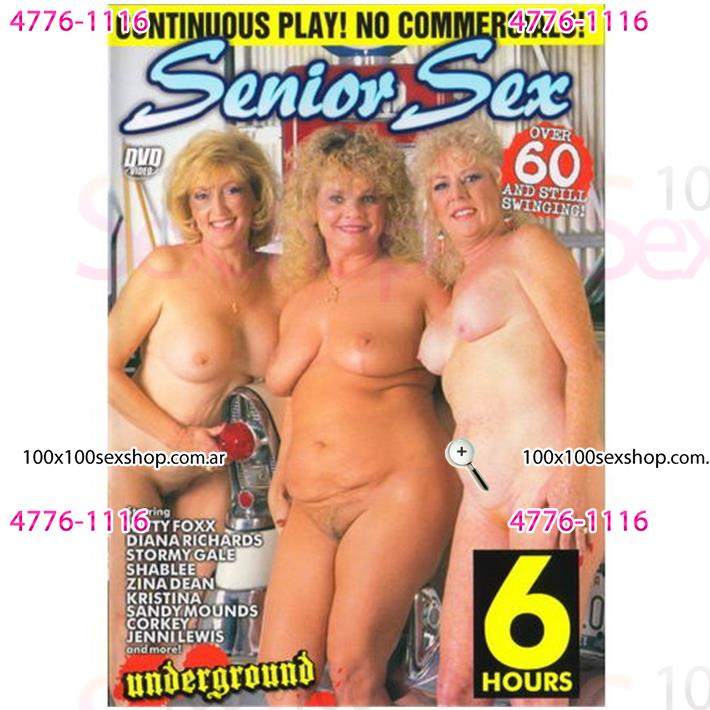 Cód: CA DVDEXO2-205 - DVD XXX Senior Sex - $ 200