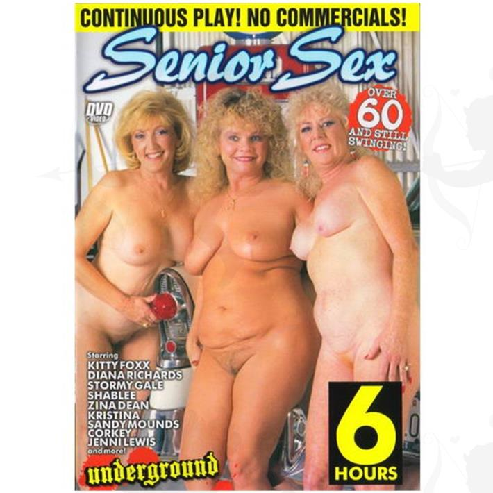 Cód: DVDEXO2-205 - DVD XXX Senior Sex - $ 200