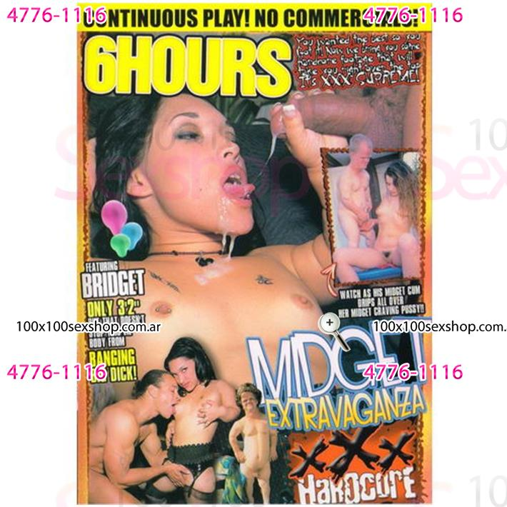 Cód: CA DVDEXO3-202 - DVD XXX Midget Extravaganza - $ 200