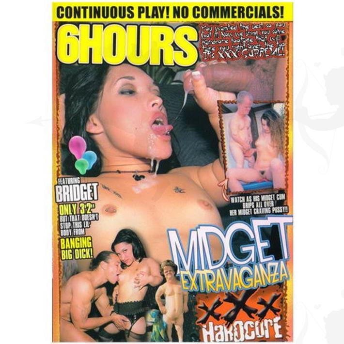 Cód: DVDEXO3-202 - DVD XXX Midget Extravaganza - $ 200
