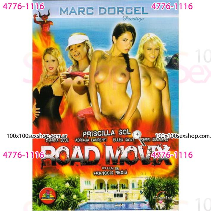Cód: CA DVDFRA-108 - DVD XXX Road Movix - $ 200
