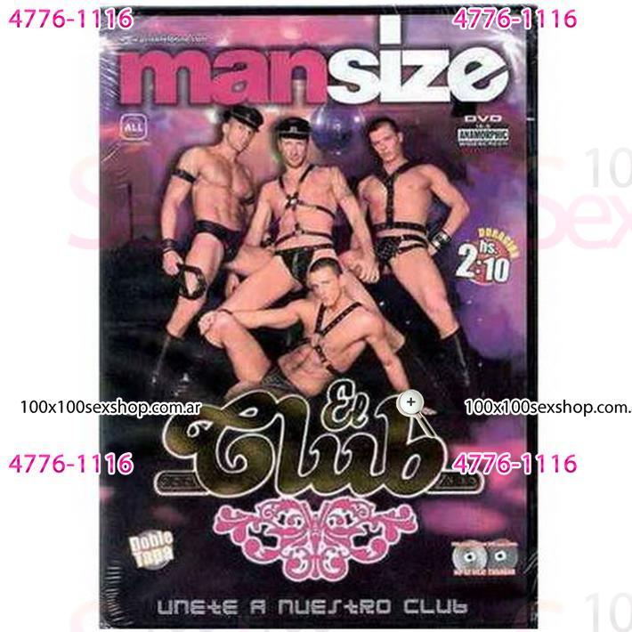 Cód: CA DVDG-201 - DVD XXX El Club - $ 200