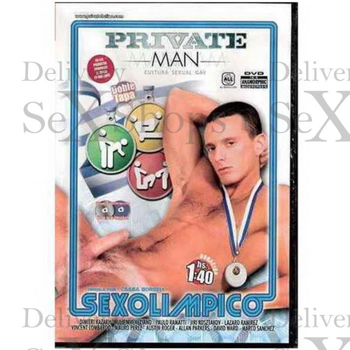 DVD XXX Sexolimpico