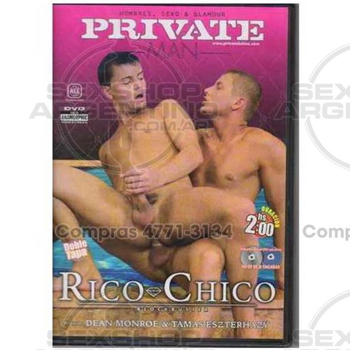 - DVD XXX Rico Chico