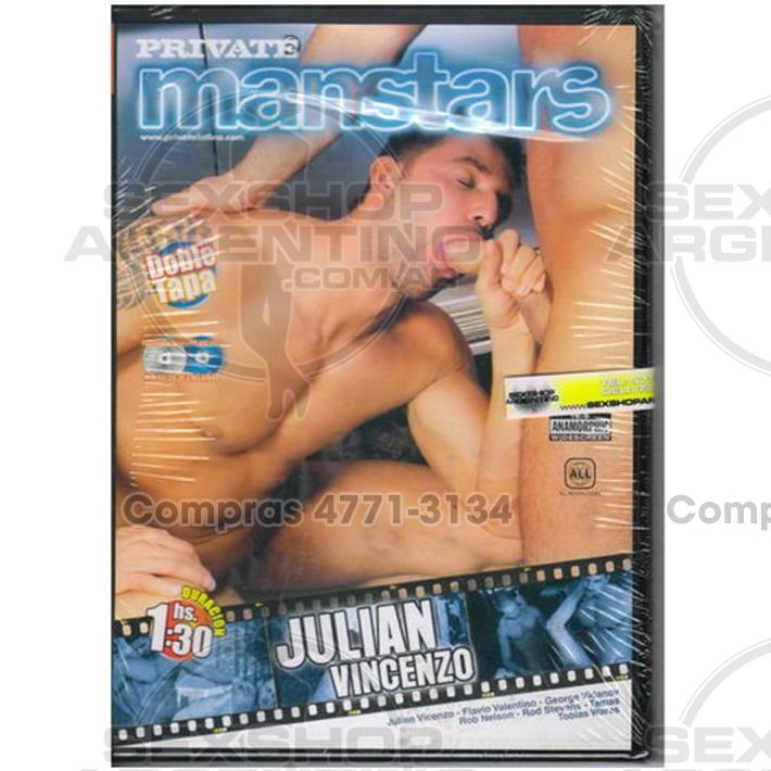 - DVD XXX Julian Vincenzo