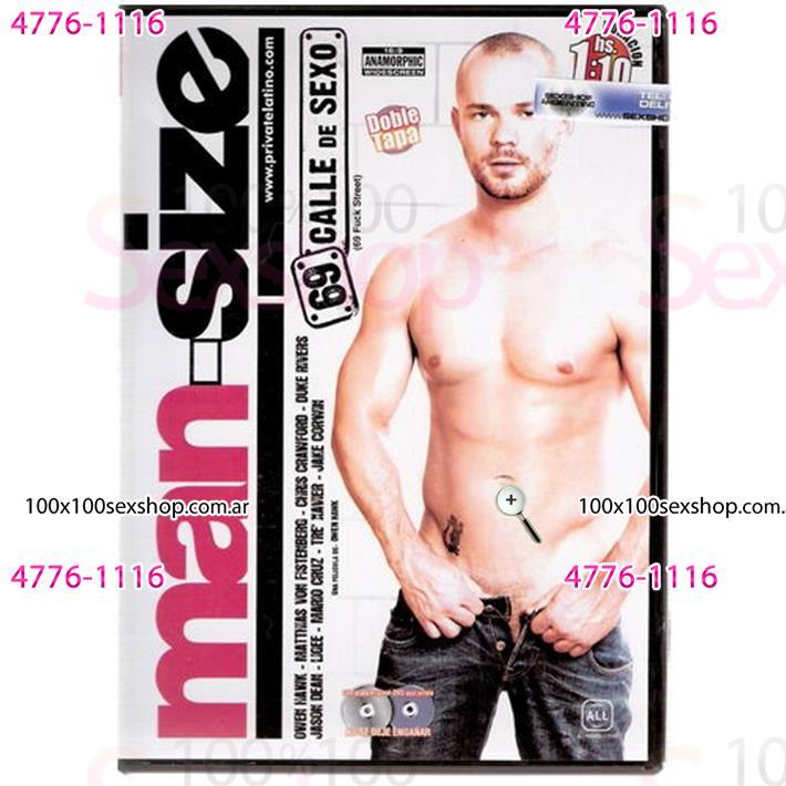 Cód: CA DVDG-213 - DVD XXX 69 Calle De Sexo - $ 200