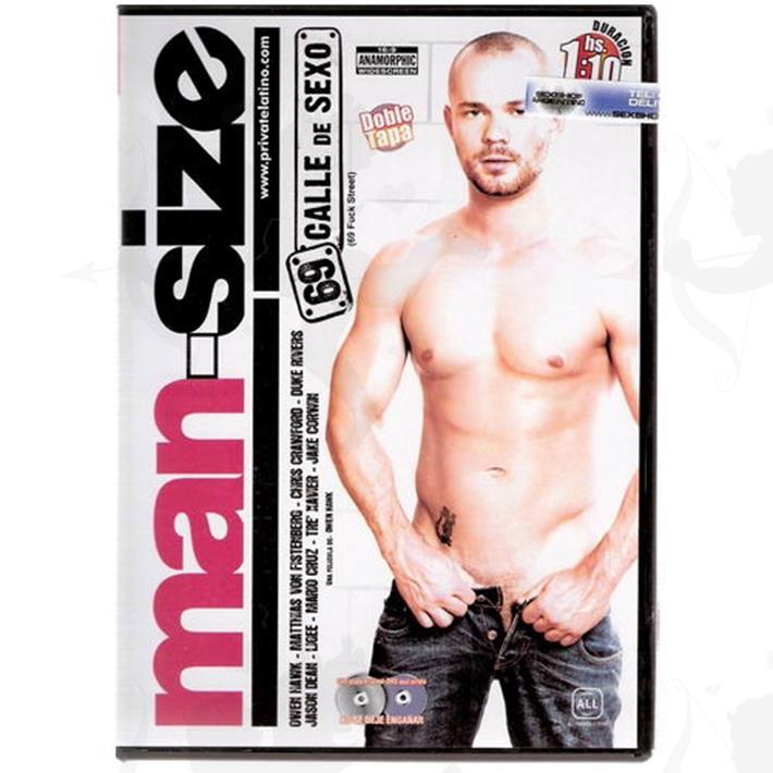 Cód: DVDG-213 - DVD XXX 69 Calle De Sexo - $ 200