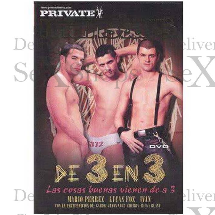 DVD XXX De 3 En 3