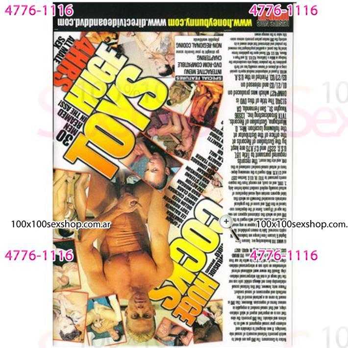 Cód: CA DVDG-216 - DVD XXX Cuero Adentro - $ 200