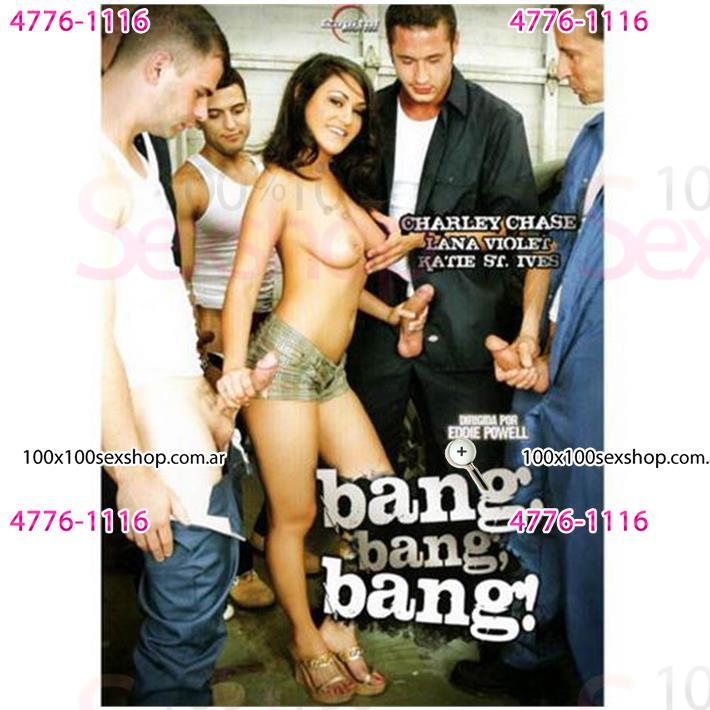 Cód: CA DVDGAN-101 - DVD XXX Bang Bang Bang - $ 200