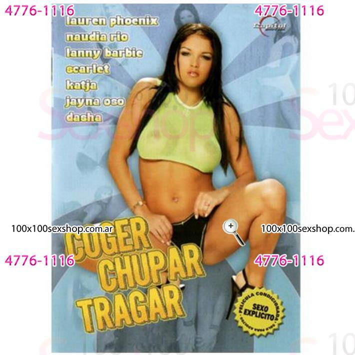 Cód: CA DVDHET-101 - DVD XXX Coger Chupar Y Tragar - $ 200