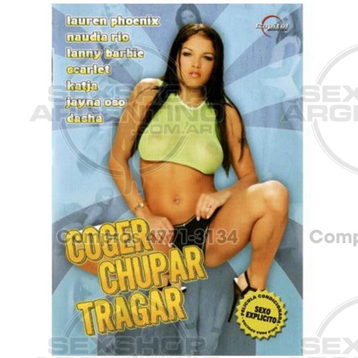 - DVD XXX Coger Chupar Y Tragar