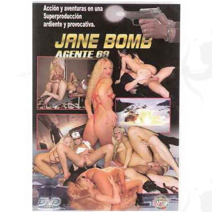 Cód: DVDHET-109 - DVD XXX Jane Bomb - $ 200