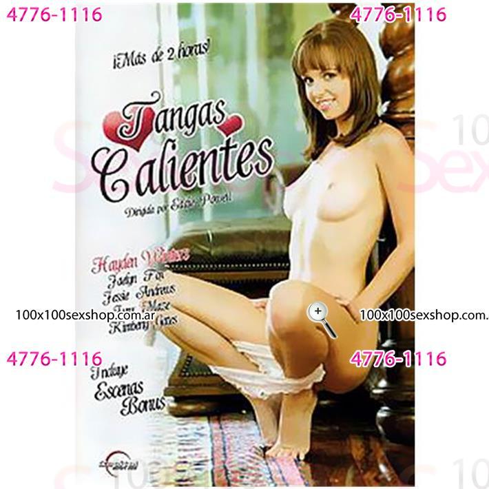 Cód: CA DVDHET-111 - DVD XXX Tangas Calientes - $ 200