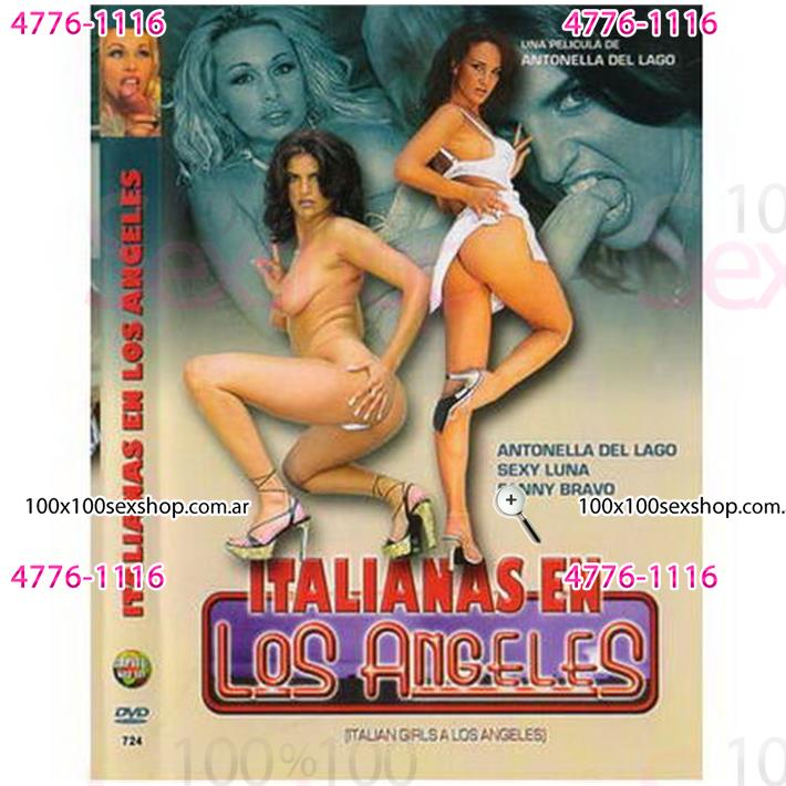 Cód: CA DVDIT-102 - DVD XXX Italianas En Los Angeles - $ 200