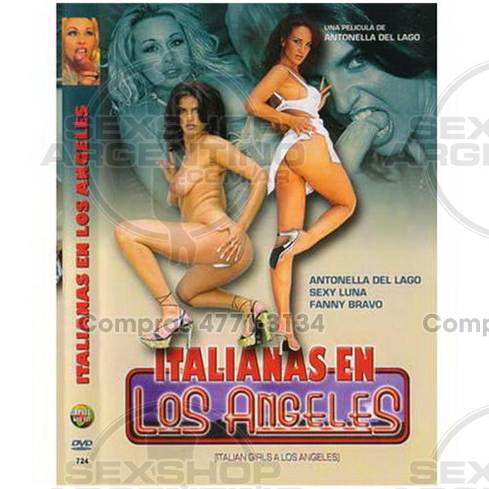 - DVD XXX Italianas En Los Angeles