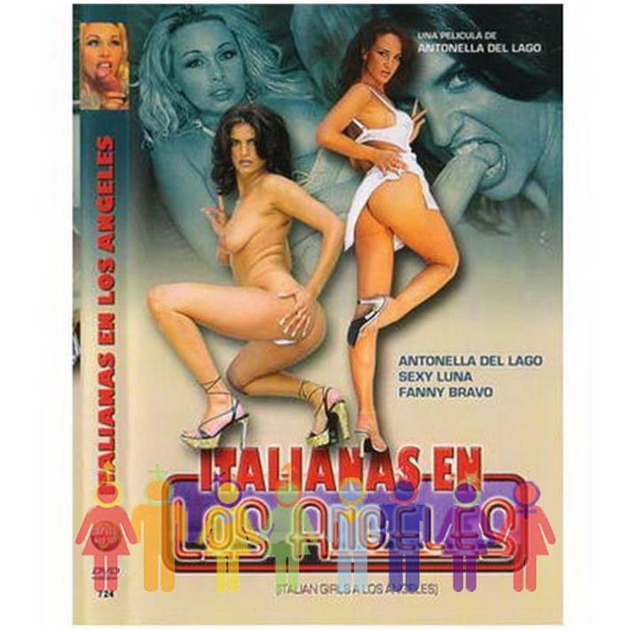 DVD XXX Italianas En Los Angeles
