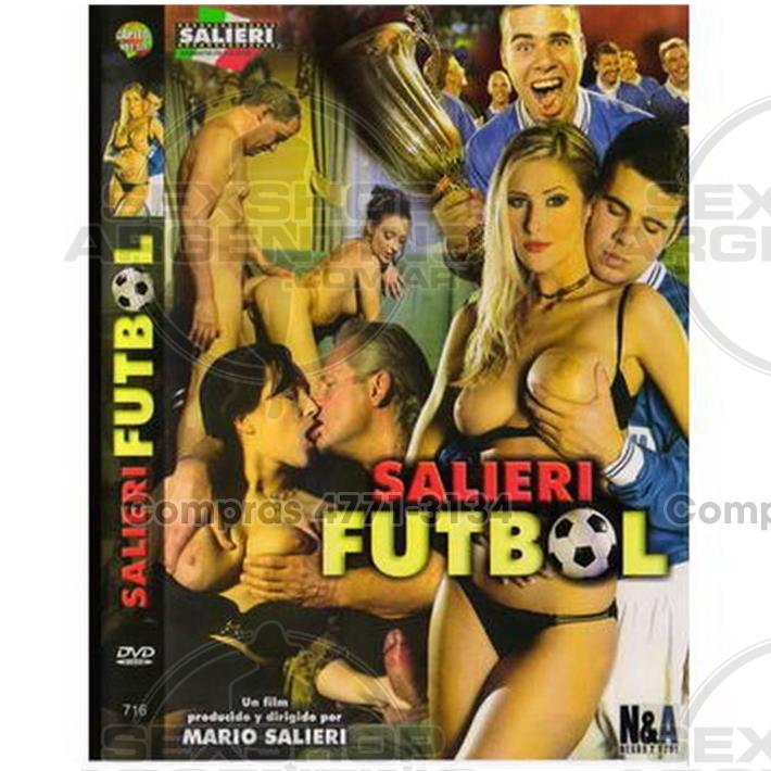 Películas eróticas, Dvd italianas - DVD XXX Salieri Futbol