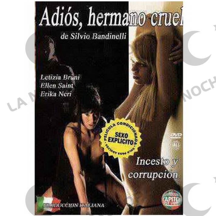 DVD XXX Adios Hermano Cruel