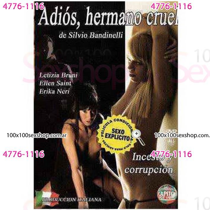 Cód: CA DVDIT-110 - DVD XXX Adios Hermano Cruel - $ 200