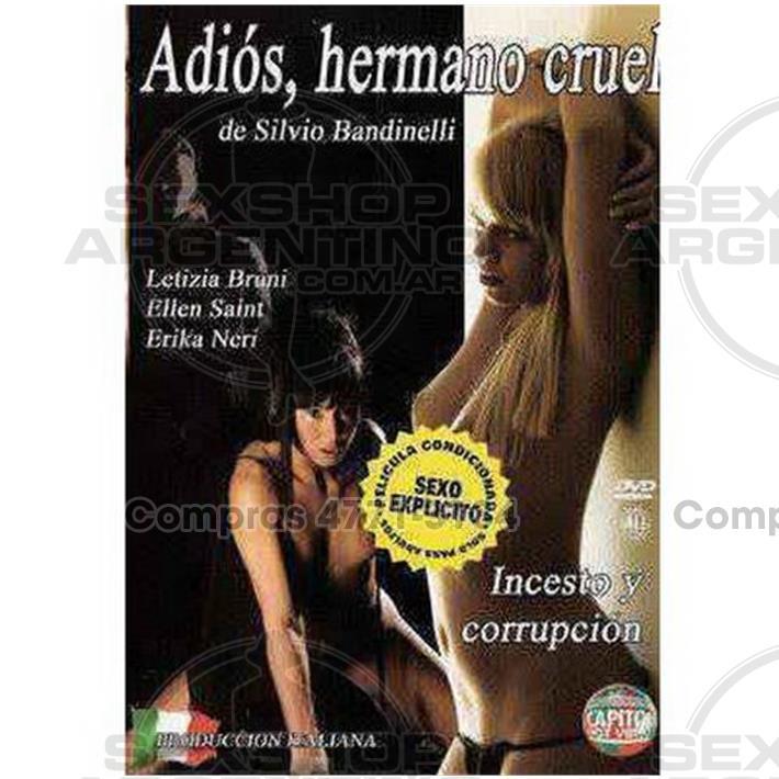 - DVD XXX Adios Hermano Cruel